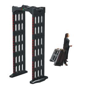 China Portable Walk Through Body Metal Detectors Archway Door Frame Machine AC110V~240V factory