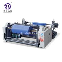 China Nonwoven Faric Slitter Rewinder Machine with Single Winding Shaft factory