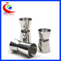 Buy cheap Attractive Cocktail Measuring Cup Washable 20ml - 50ml Crimping 304 Stainless Steel from Wholesalers