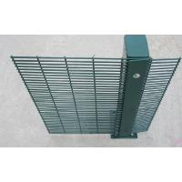 Buy cheap PVC Coating 358 Wire Mesh Fence High Security Wire Prison Fence 2-3m Length from Wholesalers