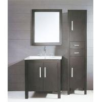 Buy cheap 80 X 48 X 85 / cm dark grey Ceramic Bathroom Vanity freestanding square type from Wholesalers