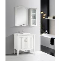 Buy cheap 2 Doors Ceramic Bathroom Vanity mirrored stainless steel with Soft Closing Sliders from Wholesalers