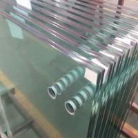 Buy cheap 13.52mm clear tempered laminated glass panels for interior frameless glass balustrade from Wholesalers