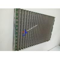 China FLC 2000 Wave Typed Rock Shaker Screen For Arctic Solids Control System on sale