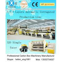 China Computerized 3 / 5 / 7 Ply High Speed Corrugated Carton Making Machine ISO9001 factory