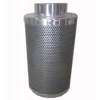Quality CTC70 10 inch hydroponic Flange Active Carbon Filter Odor Control scrubber for sale
