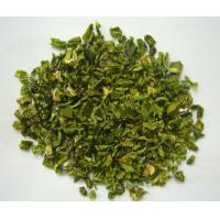 China DEHYDRATED GREEN BELL PEPPER A GRADE ,10X10MM, 5X5MM,  ALL KIND OF SIZE factory