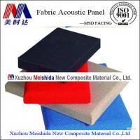 China Interior Decorative Soundproof Fabric Wall Covering on sale