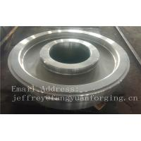 China EN JIS ASTM AISI BS DIN Forged Wheel Blanks Parts Grinding Wheel Helical Ring Gear Wheel factory
