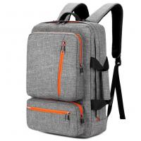 17 Inch Laptop Tote Bag Grey Color , Travel Laptop Backpack Computer Bag