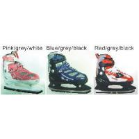 China Kids Adjustable Ice Skates Semi Soft factory