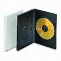 China 14mm Double Transparent DVD Case, Made of Plastic, OEM Orders are Welcome on sale