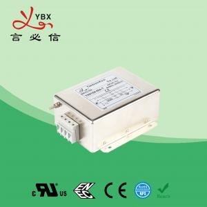 China Custom Magnetic 3 Phase EMI Filter 30A Motor Wave Interference Power factory