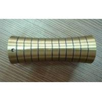 Metal curtain rod ends