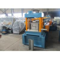 Buy cheap Auto PLC Control Z Purlin Roll Forming Machine with Engineer Oversea Service from Wholesalers