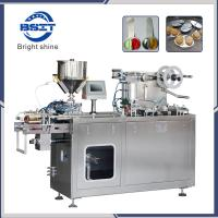 China small capacity/ laboratory  DPP80 blister packaging machine manual for paste liquid factory