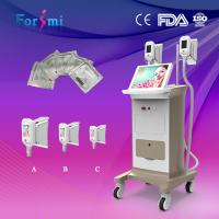 Buy cheap 2 Large Handles Cryolipolysis Fat Removal Fast Slimming Machines from Wholesalers