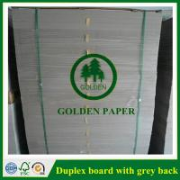 Quality Duplex board with white back wholesale