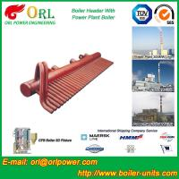 Buy cheap 100 Ton Boiler Header Manifolds Carbon Steel Boiler Unit for Natural Gas Industry from Wholesalers