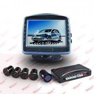 4 digital LED Audible Rear View Parking Sensor RS-T35AC1-4M with PAL / NTSC camera