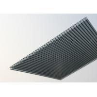 China Waterproof Polycarbonate Roofing Sheets Customized Size High Mechanical Strength factory