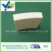 China High alumina ceramic lining tile for ball mill factory