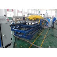 SBG300 Double Wall Corrugated Pipe Extrusion Line , Corrugated Pipe Making Machine
