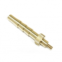 China Tolerance 0.005mm Threaded Brass Precision Ground Shafts factory