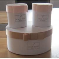 Round Paper Gift Boxes with ribbon bowknot, Paper Gift Packaging