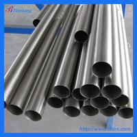 China astm b338/b861 gr1 gr2 seamless titanium pipe on sale