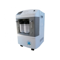 China Class II Medical 93% Continuous Flow Oxygen Concentrator 10 LPM 55dB factory