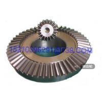 Buy cheap Heavy Duty Forged Steel Industrial Bevel Gears For Rotating Gear Reducer from Wholesalers