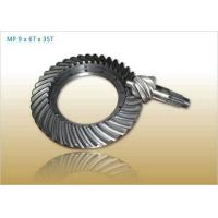 Buy cheap Forging Cast Steel Helical Bevel Gears , Mining Machinery Gears from Wholesalers