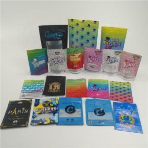 Buy cheap Custom small plastic mylar bags for powder, pill, HEMP Ziplock Packaging Bag for from wholesalers
