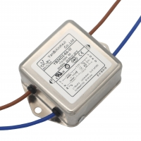 Buy cheap AC Line 3A 6A Low Pass EMC EMI Noise Filter Double Stage Small Size from wholesalers