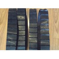 China Lawn Mover Lightweight Rubber Tracks , 60mm Width 40 Links Small Tank Tracks factory