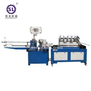 China 2.2KW  straw making machine automatic CNC paper drinking 2 winding head factory