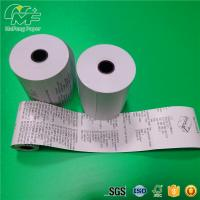 "China Premium 55gsm Thermal Printer Paper Roll  3 1/8""X180 Static - Proof Recycled factory"
