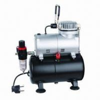 China 1/6hp Air Compressor for Air Brush/Spray Gun, Auto-stop/Low Noise/Portable/Lightweight/Over Pressure on sale
