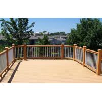 Buy cheap Environmental Light Yellow WPC Fence Panels , WPC Outdoor Railing Board from Wholesalers
