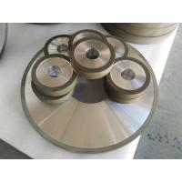 China PCD Resin Bonded Diamond Grinding Wheels For Edge Grinding Machine High Precision factory