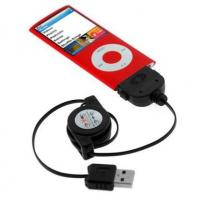 China Retractable 2-in-1 USB Data Hotsync Charging Cable for iPhone 3GS factory