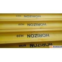 Buy cheap Waterproof Treated H20 Timber Beam , Yellow Timber H BeamFor Slab Formwork from Wholesalers