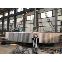 Buy cheap UNI EN ISO standard 120MT Big Mill Girth Gear For Rotary Kilns from wholesalers