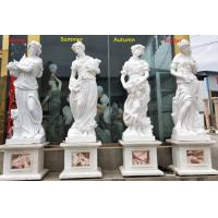 China Outdoor garden marble stone statues four season marble sculpture stone carvings,China stone carving Sculpture supplier factory