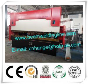 China Delem Synchronize Electric Hydraulic Press Brake , WE67K Press Brake Machine factory