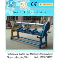 China Cast Iron Carton Corrugated Board Slotting Printing And Cutting Machine factory