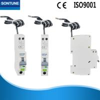 China White Single Phase RCBO High Short Circuit Current on sale