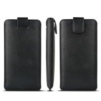 China Pull Tab Soft Flexible OEM Genuine Leather Cases factory