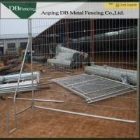 China Anti Climb Outdoor Australian Temporary Fencing / Temporary Metal Fence Panels on sale